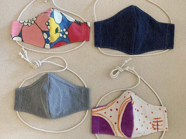 Display of Studio Holler Masks