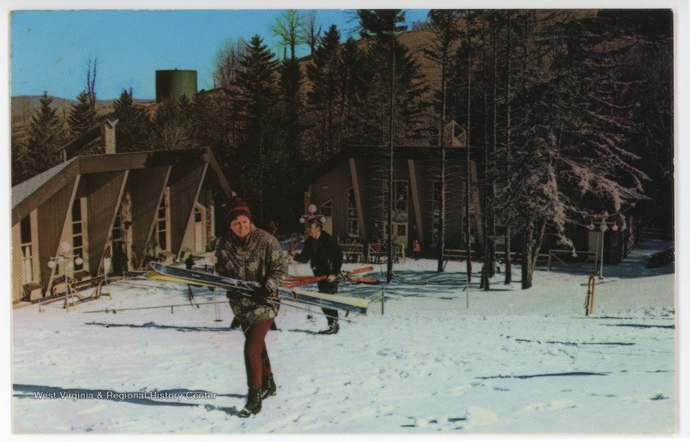 Canaan Valley Skiing: Canaan Valley Ski Resort in the 1970s