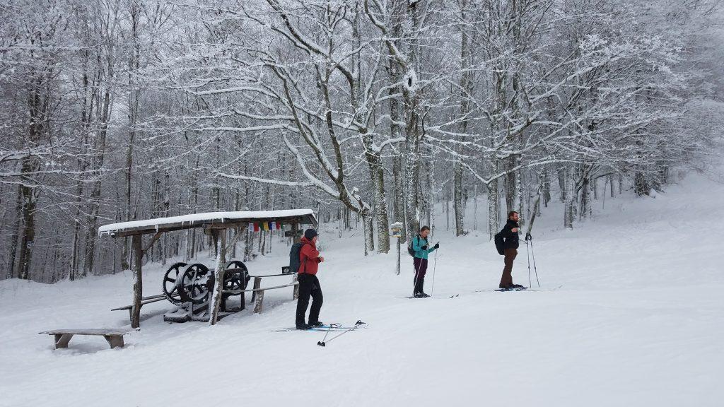 Canaan Valley Skiing: Weiss Knob Lift Shack