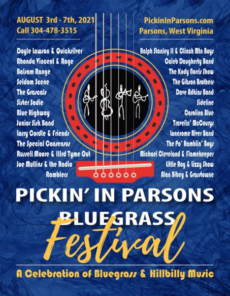 Pickin In Parsons 2021 Poster