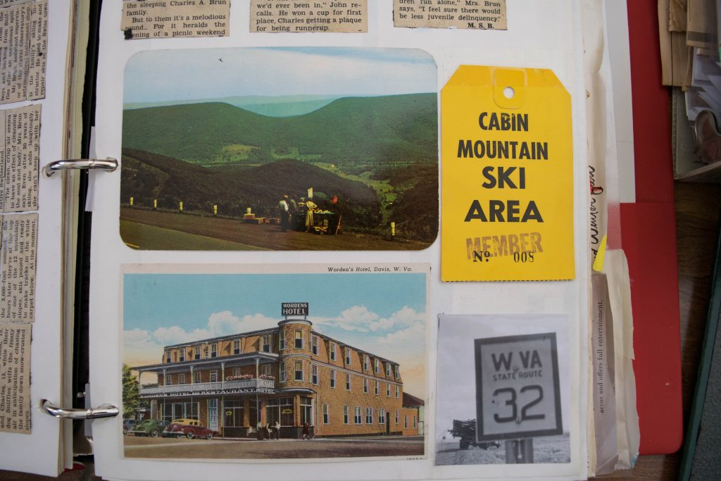 Canaan Valley Skiing: Cabin Mountain Ski Area relics. Photo courtesy of the Snow Sports Museum of West Virginia.